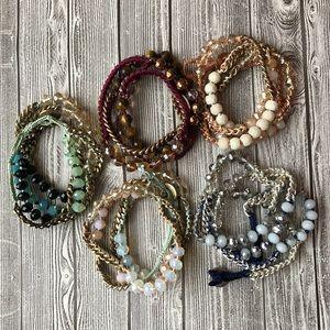 Chloe & Isabel: Beaded Wrap Bracelets (J005)